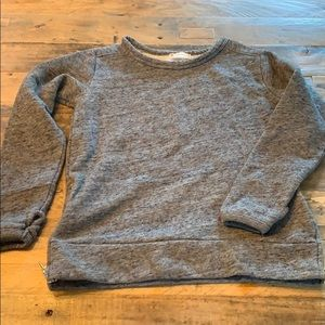 J. crew Crewcuts Sweatshirt with side Zippers 6/7